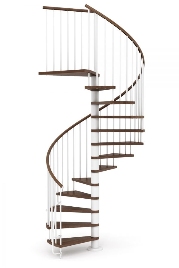 Nova Spiral Staircase option 3 by Ehleva from TheStaircasePeople.co.uk