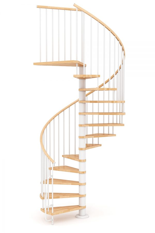 Nova Spiral Staircase option 4 by Ehleva from TheStaircasePeople.co.uk