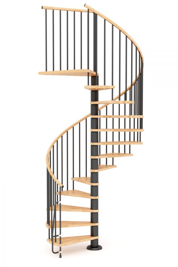 Nova Spiral Staircase option 5 by Ehleva from TheStaircasePeople.co.uk