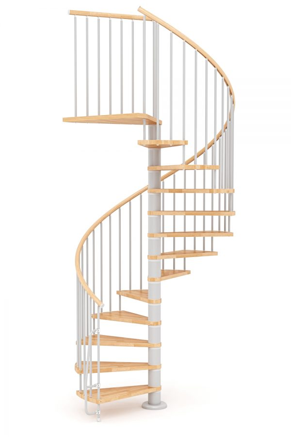 Nova Spiral Staircase option 6 by Ehleva from TheStaircasePeople.co.uk