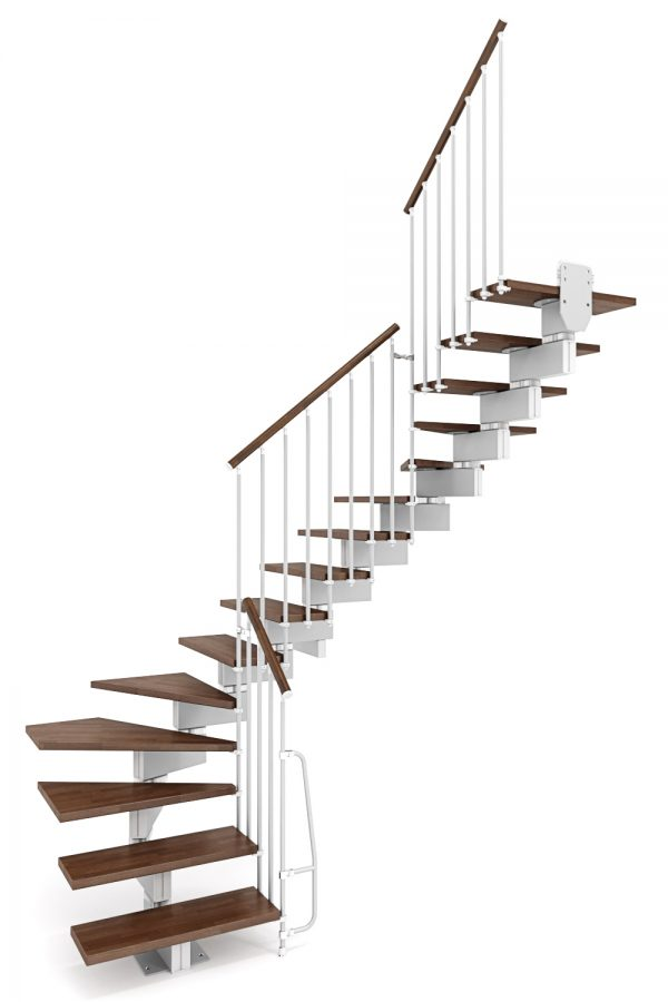 Stilo Modular Staircase option 1 by Ehleva from TheStaircasePeople.co.uk
