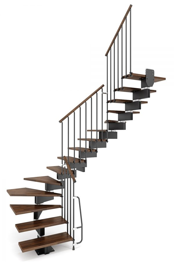 Stilo Modular Staircase option 2 by Ehleva from TheStaircasePeople.co.uk