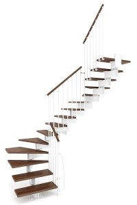 Stilo Modular Staircase option 3 by Ehleva from TheStaircasePeople.co.uk