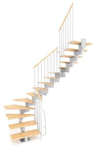 Stilo Modular Staircase option 4 by Ehleva from TheStaircasePeople.co.uk