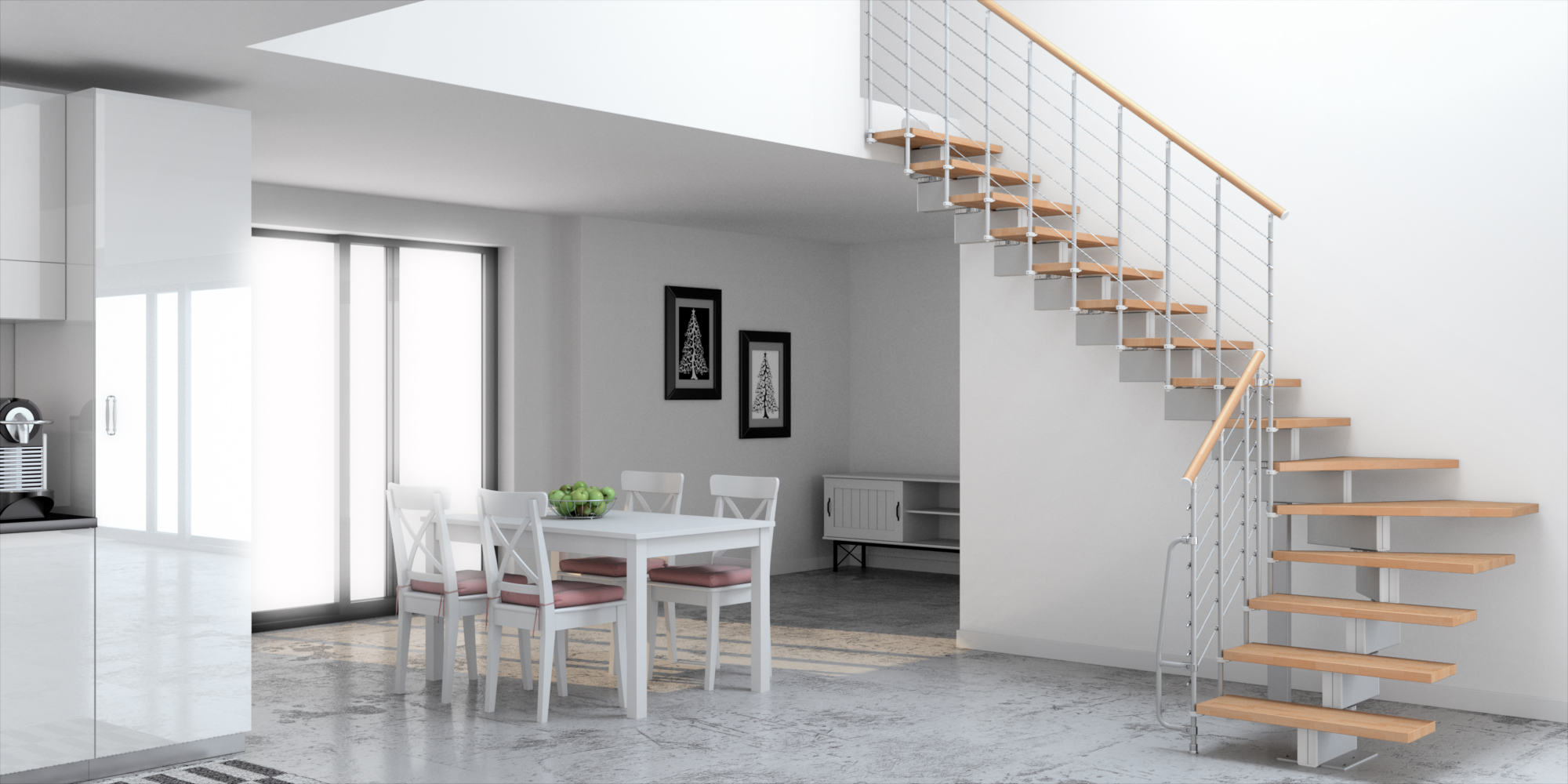Picture of: Vector Modular Stair Kit The Staircase People Spiral Modular Space Saving Stair Kits Uk
