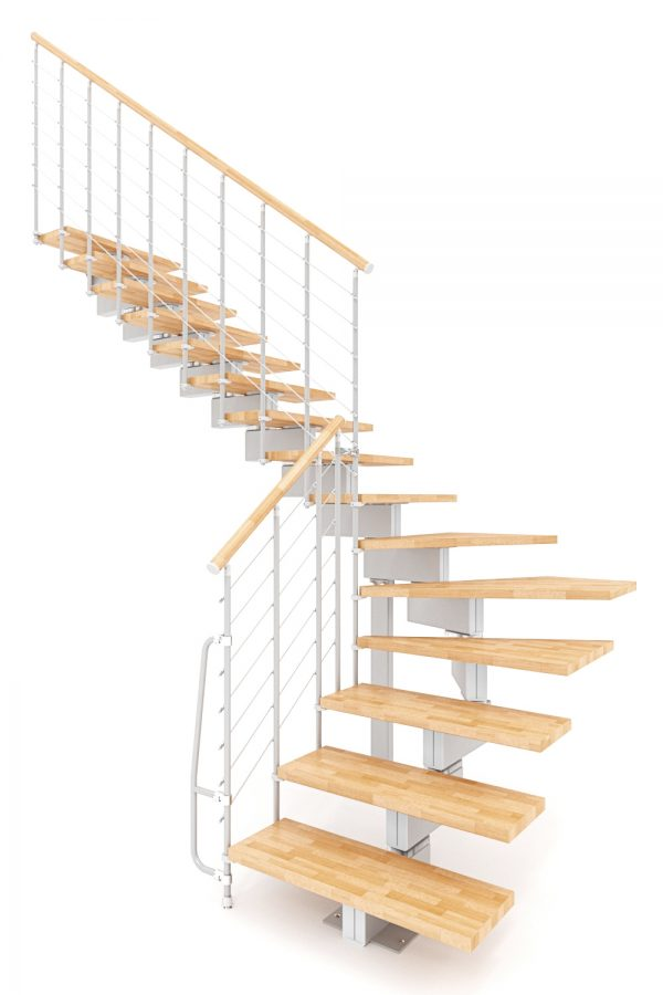 Vector Modular Staircase option 1 by Ehleva from TheStaircasePeople.co.uk