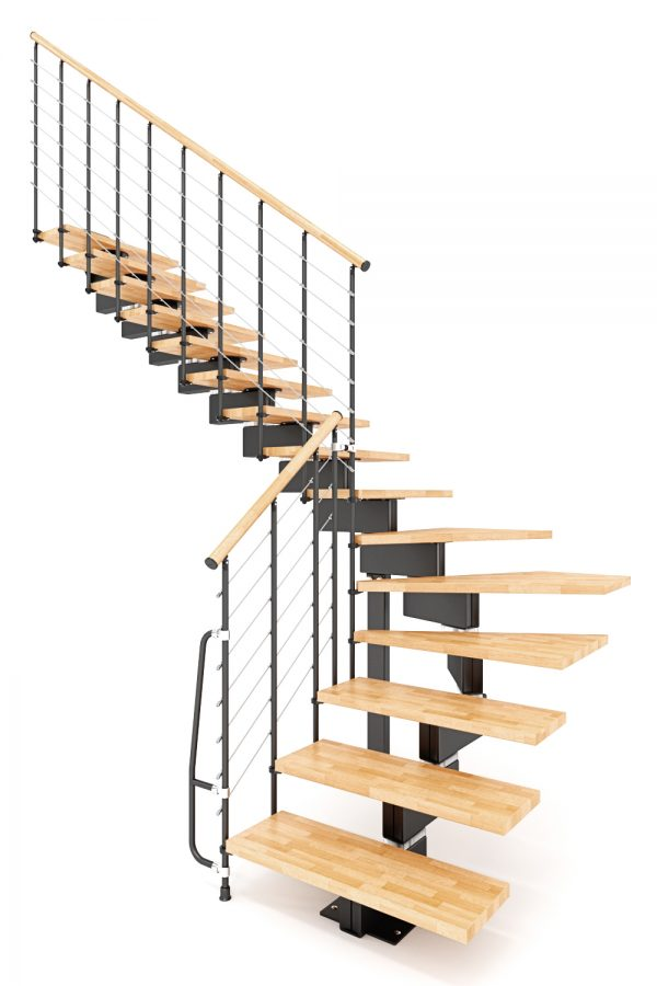 Vector Modular Staircase option 2 by Ehleva from TheStaircasePeople.co.uk