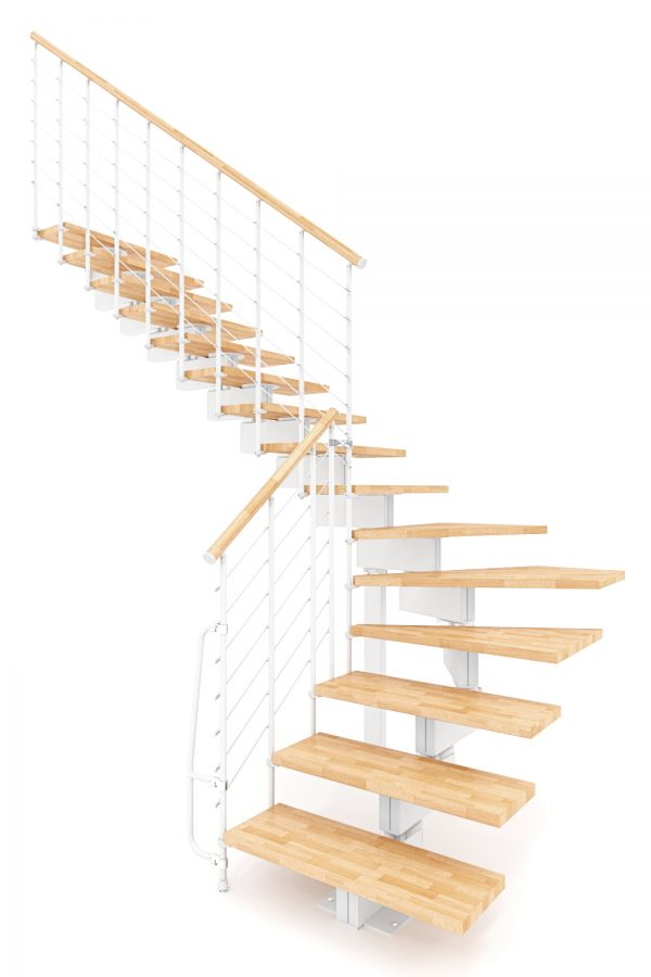 Vector Modular Staircase option 3 by Ehleva from TheStaircasePeople.co.uk