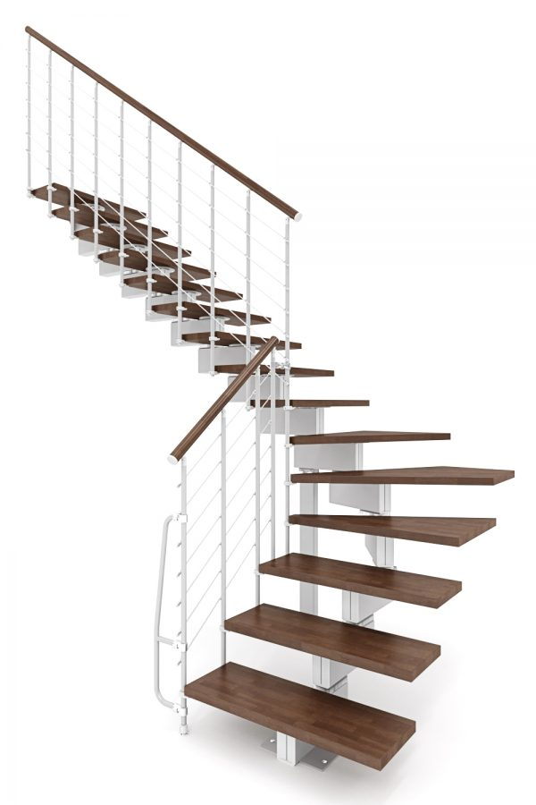Vector Modular Staircase option 4 by Ehleva from TheStaircasePeople.co.uk