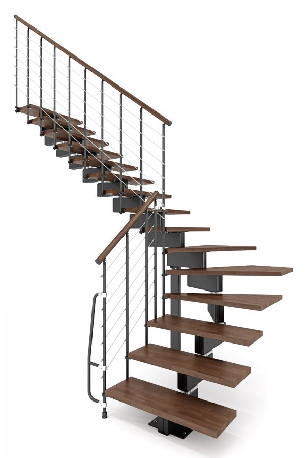 Vector Modular Staircase option 5 by Ehleva from TheStaircasePeople.co.uk