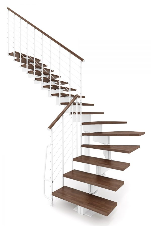 Vector Modular Staircase option 6 by Ehleva from TheStaircasePeople.co.uk
