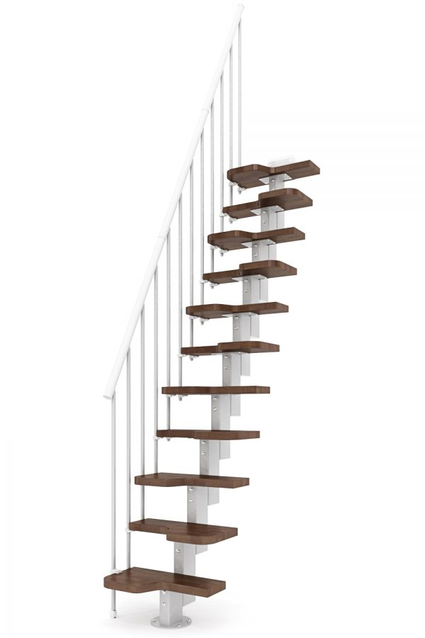 Venus Space Saver Staircase option 1 by Ehleva from TheStaircasePeople.co.uk
