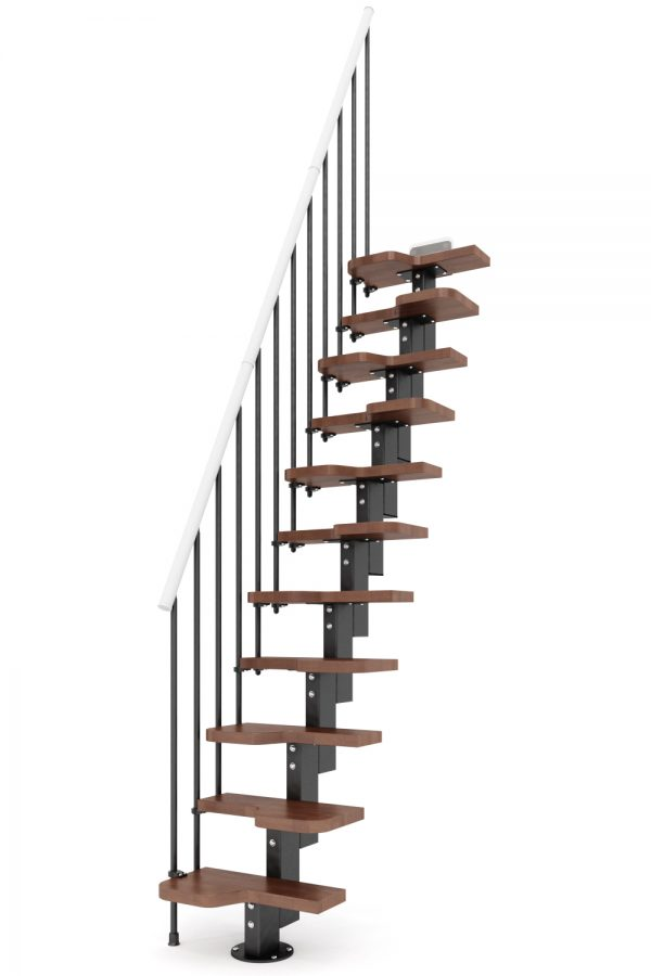 Venus Space Saver Staircase option 2 by Ehleva from TheStaircasePeople.co.uk