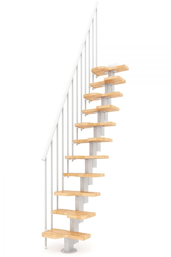 Venus Space Saver Staircase option 4 by Ehleva from TheStaircasePeople.co.uk