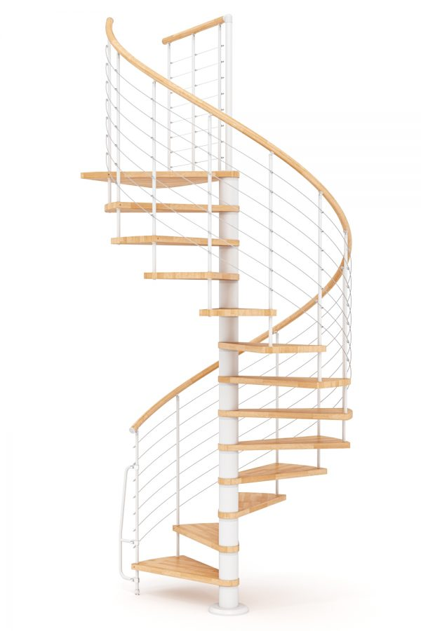 Vogue Spiral Staircase option 1 by Ehleva from TheStaircasePeople.co.uk