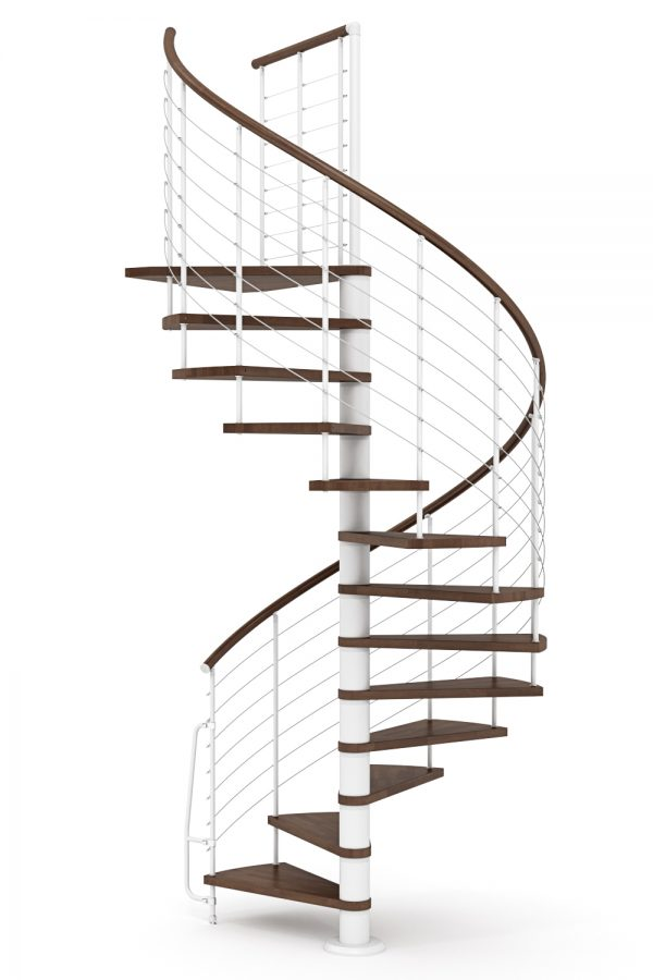 Vogue Spiral Staircase option 2 by Ehleva from TheStaircasePeople.co.uk