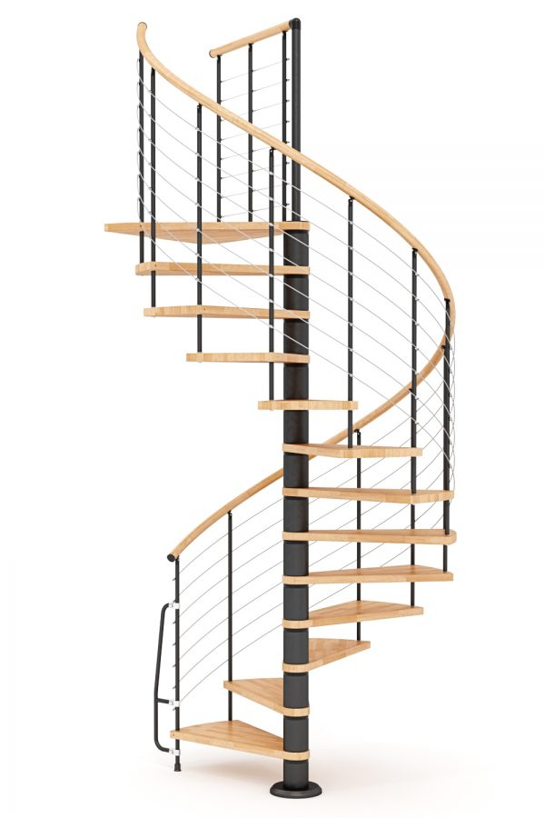 Vogue Spiral Staircase option 3 by Ehleva from TheStaircasePeople.co.uk