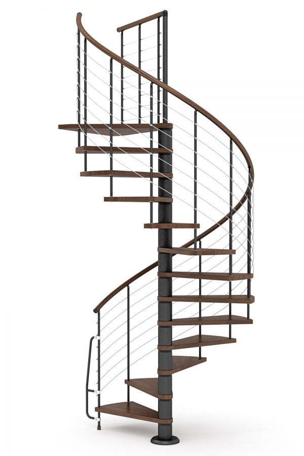 Vogue Spiral Staircase option 4 by Ehleva from TheStaircasePeople.co.uk
