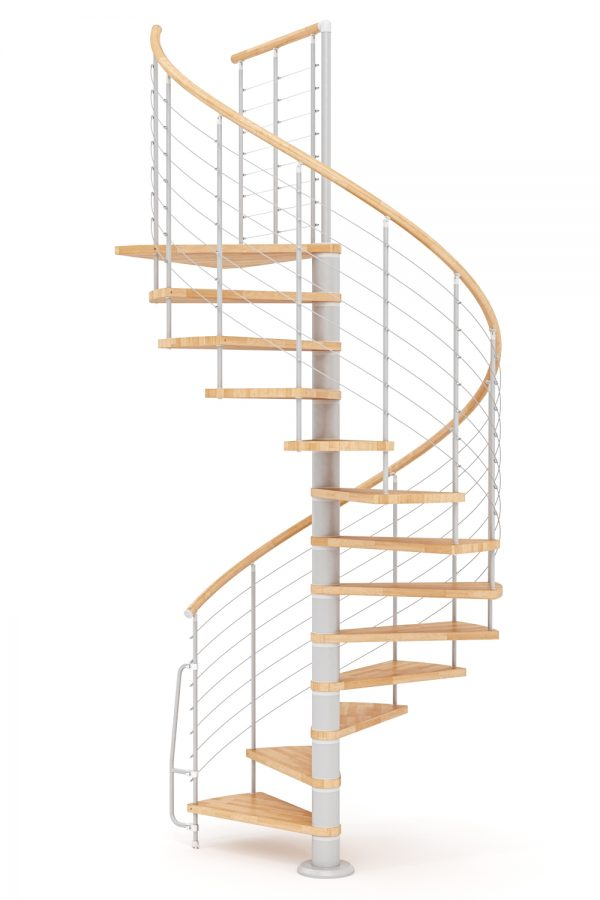 Vogue Spiral Staircase option 5 by Ehleva from TheStaircasePeople.co.uk