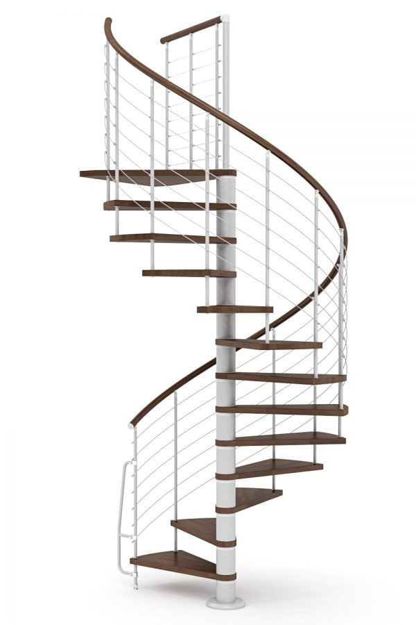 Vogue Spiral Staircase option 6 by Ehleva from TheStaircasePeople.co.uk
