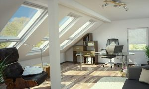 Roof conversion inspiration from Velux